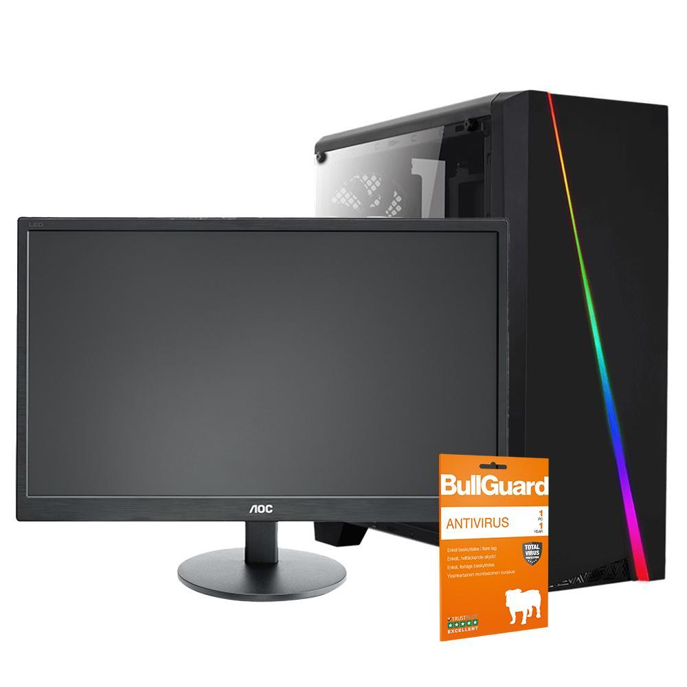 Begynder Gaming Computer 1 + Skærm