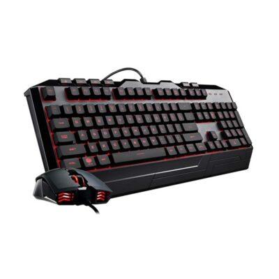 Cooler Master Devastator 3 RGB - US - Gaming tastatur & mus st - Amerikansk engelsk - Sort