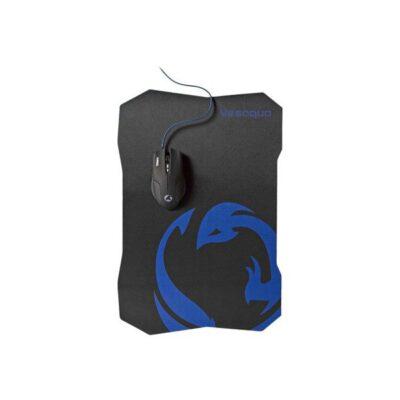 Nedis Gaming - Mus - Optisk - 6 knapper - Sort