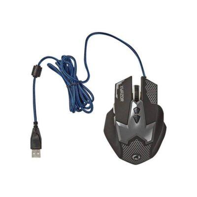 Nedis Gaming Xyazor - Mus - Optisk - 7 knapper - Sort