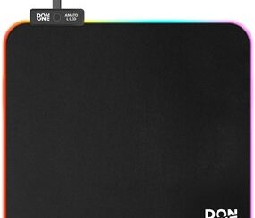 - AMATO Mousepad LED Large L - Soft Surface (45 x 40 CM)