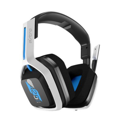 ASTRO Gaming A20 Wireless Headset Gen 2 for PlayStation 5/PlayStation 4/PC/Mac - White/Blue