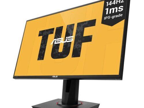 "ASUS 25"" Skærm TUF Gaming VG259Q - Sort - 1 ms AMD FreeSync"