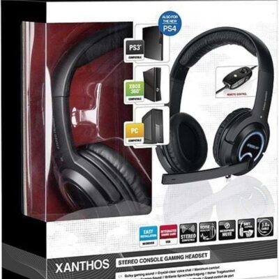 Speed-Link XANTHOS Stereo Console Gaming - Headset - Sony PlayStation 3