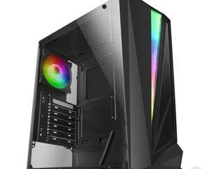 ATX / Mikro ATX/ Mini ITX-mid-tower case Mars Gaming MCL RGB LED Sort