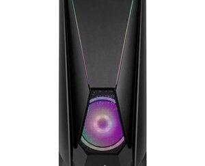 ATX Semi-tårn kasse Mars Gaming VISORBK LED RGB