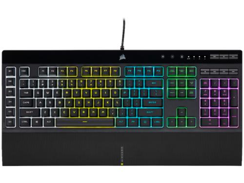 Corsair K55 RGB PRO - Gaming Tastatur - Nordisk - Sort