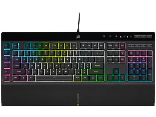 Corsair K55 RGB PRO XT - Gaming Tastatur - Amerikansk engelsk - Sort
