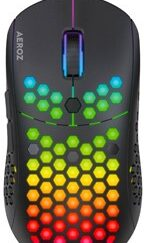 - GM-1000 BLACK - RGB LIGHTWEIGHT GAMING MOUSE