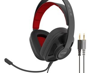 Gaming Headset Over-Ear GMR545 AIR Sort Åben Mic