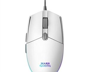 Gaming-mus Mars Gaming MMG Blanco