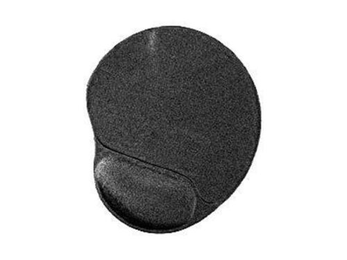 Gembird MP-GEL-BLACK - mouse pad with wrist pillow