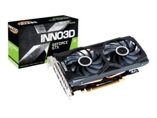 Inno3D GeForce GTX 1660 SUPER Twin X2 - 6GB GDDR6 RAM - Grafikkort