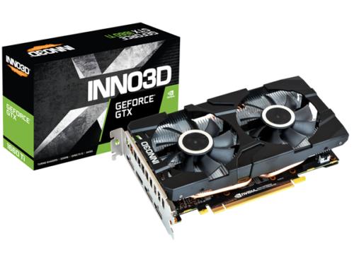 Inno3D GeForce GTX 1660 Ti Twin X2 - 6GB GDDR6 RAM - Grafikkort