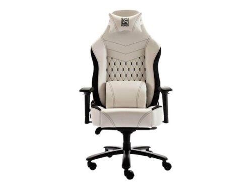 LC Power LC-GC-800 - chair Kontor Stol - Hvid - PU Læder - Op til 180 kg