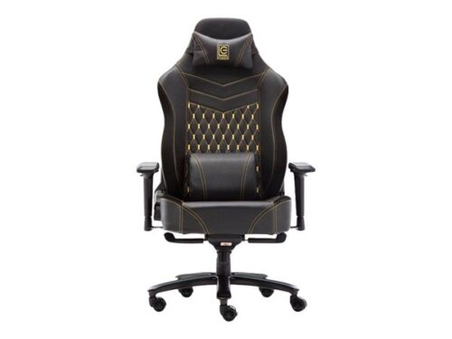 LC Power LC-GC-800BY - chair Kontor Stol - Yellow - Plastik - Op til 180 kg