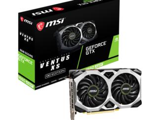 MSI GeForce GTX 1660 SUPER VENTUS XS OC - 6GB GDDR6 RAM - Grafikkort