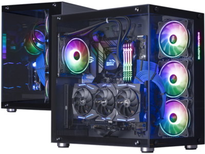 Mighty Deep Blue Gaming PC