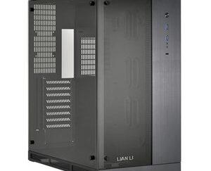 PC-O11WXC computer case Midi-Tower Black,Transparent