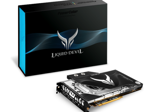 PowerColor Radeon RX 6800 XT Liquid Devil - 16GB GDDR6 RAM - Grafikkort