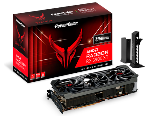 PowerColor Radeon RX 6900 XT Ultimate Red Devil - 16GB GDDR6 RAM - Grafikkort