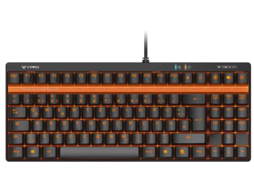 RAPOO VPRO V500S - Gaming Tastatur - Uden Numpad - Nordisk - Sort