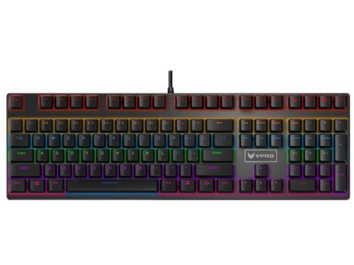 RAPOO VPRO V700S - Gaming Tastatur - Nordisk - Sort