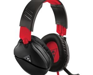 Recon 70 Headset 3,5 mm stik Sort, Rød
