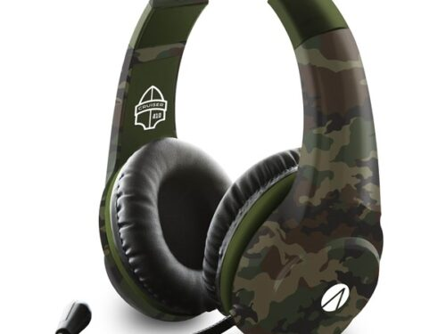 SONY DADC ABP Stealth Multiformat Gaming Headset - Cruiser Camo - Headset - Sony PlayStation 4