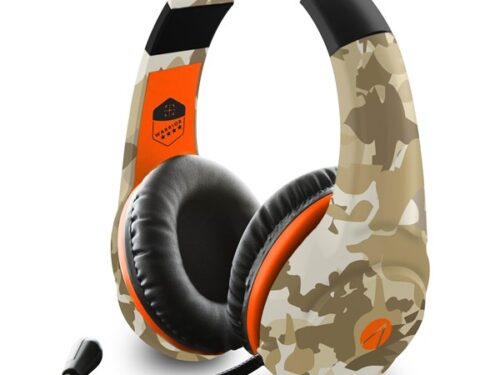 SONY DADC ABP Stealth Multiformat Gaming Headset - Warrior Camo - Headset - Sony PlayStation 4