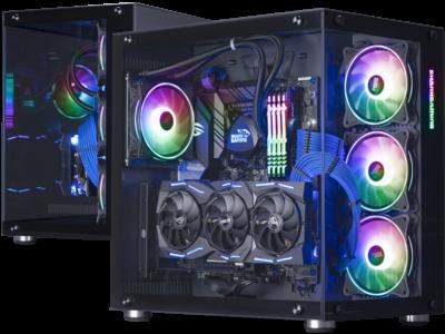 Shark Deep Blue Gaming PC