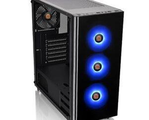 V200 TG RGB Midi-Tower Black