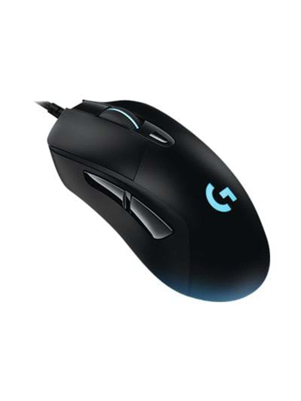 Logitech G403 Prodigy Gaming Mouse - Gaming Mus - Optisk - 6 knapper - Sort med RGB lys