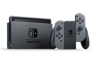 "Switch V2 2019 bærbar spilkonsol 15,8 cm (6.2"") 32 GB Berøringsskærm Wi-Fi Grå"