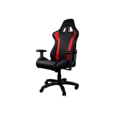 Cooler Master Caliber R1 - chair Kontor Stol - Rød - PU Læder - Op til 150 kg