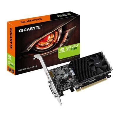 GIGABYTE GeForce GT 1030 - 2GB DDR4 SDRAM - Grafikkort