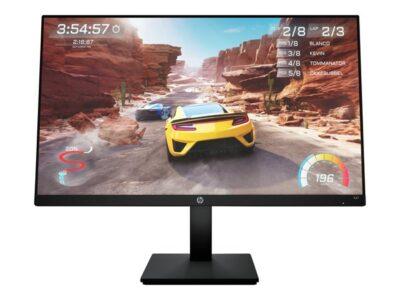 "HP 27"" Skærm X27 Gaming Monitor - Sort - 1 ms AMD FreeSync Premium"