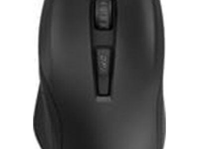 HP Vector Essential - Mus - 6 knapper - Sort