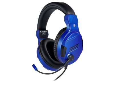 BigBen Interactive PS4 Gaming Headset V3 - Blue - Headset - Sony