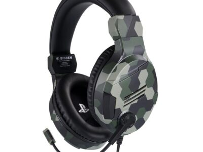 BigBen Interactive PS4 Gaming Headset V3 - Green - Headset - Sony