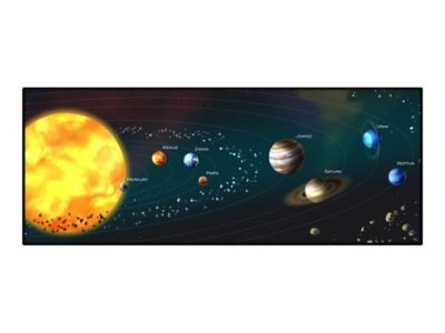 Gembird Cosmos - mouse pad - extra large