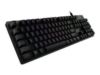 Logitech G512 Carbon GX Brown - ND - Gaming Tastatur - Nordisk - Sort