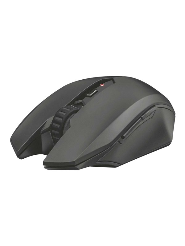 Trust GXT 115 Macci Wireless Gaming Mouse - Mus - Optisk - 6 knapper - Sort