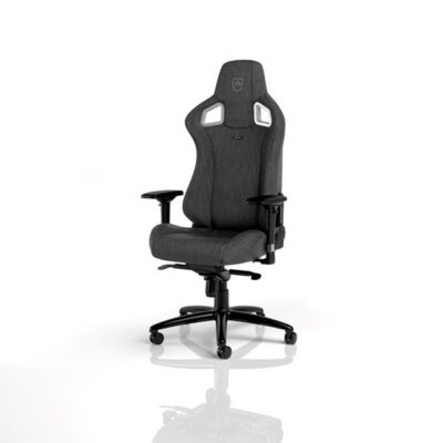 noblechairs EPIC TX Gaming Chair Fabric Anthracite Gamer Stol - Grå - Stof - Op til 120 kg