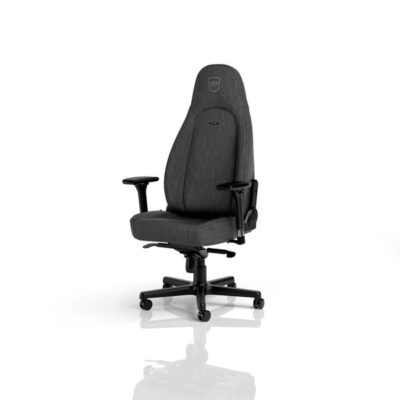 noblechairs ICON TX Gaming Chair Anthracite Gamer Stol - Grå - Stof - Op til 120 kg